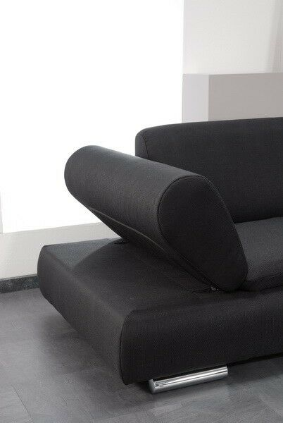 Sofa Couch 2 Sitzig Modern Verstellbare Arme Bequem Funktionssofa Ebay