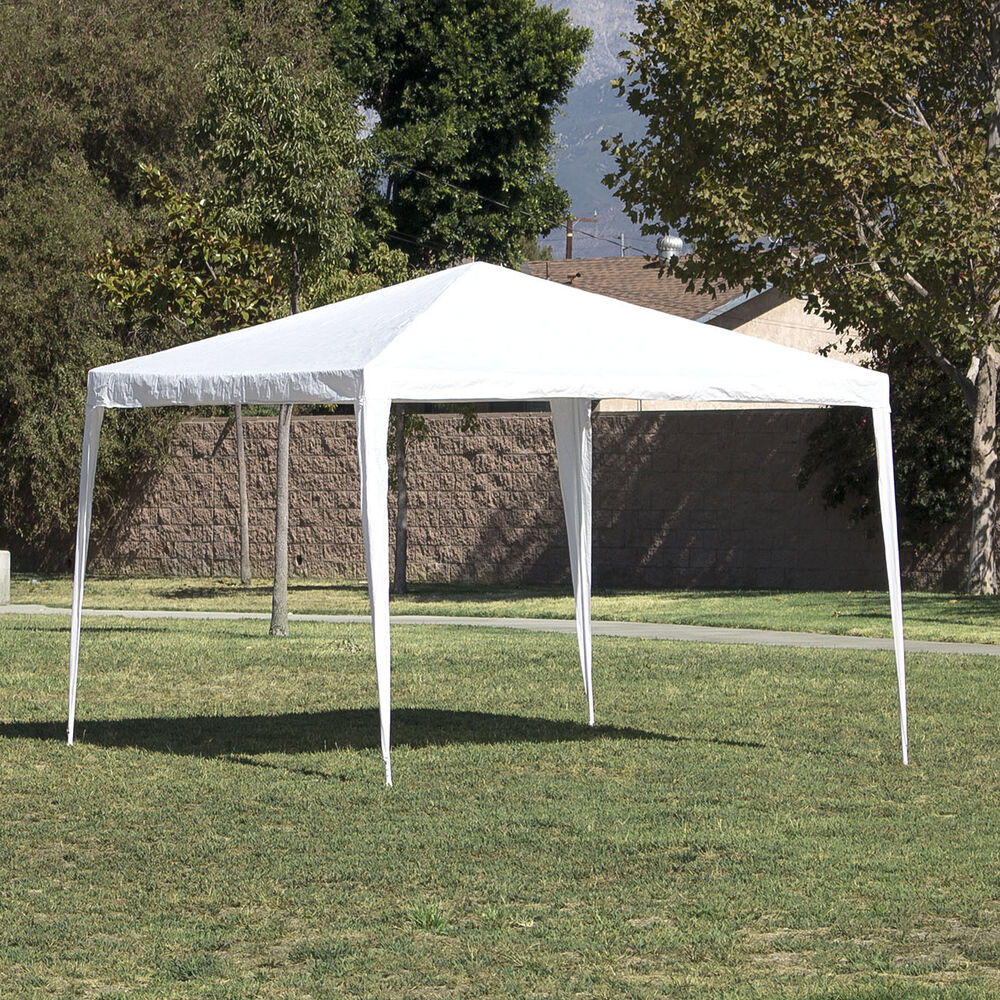 10 X10 White Outdoor Canopy Party Wedding Tent Gazebo