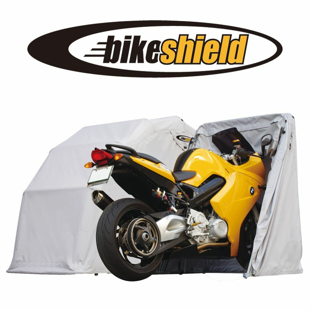Motorcycle Sheds And Covers : The bike shield medium motorcycle cover shelter storage