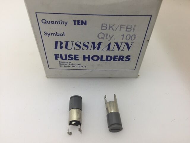 10 Pcs Fbi Bussmann Fuse Holder Cap For 188 X 1 1 4