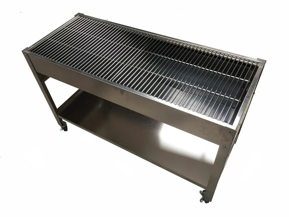 LARGE Zodiac STAINLESS STEEL CHARCOAL CATERING COMMERCIAL ...