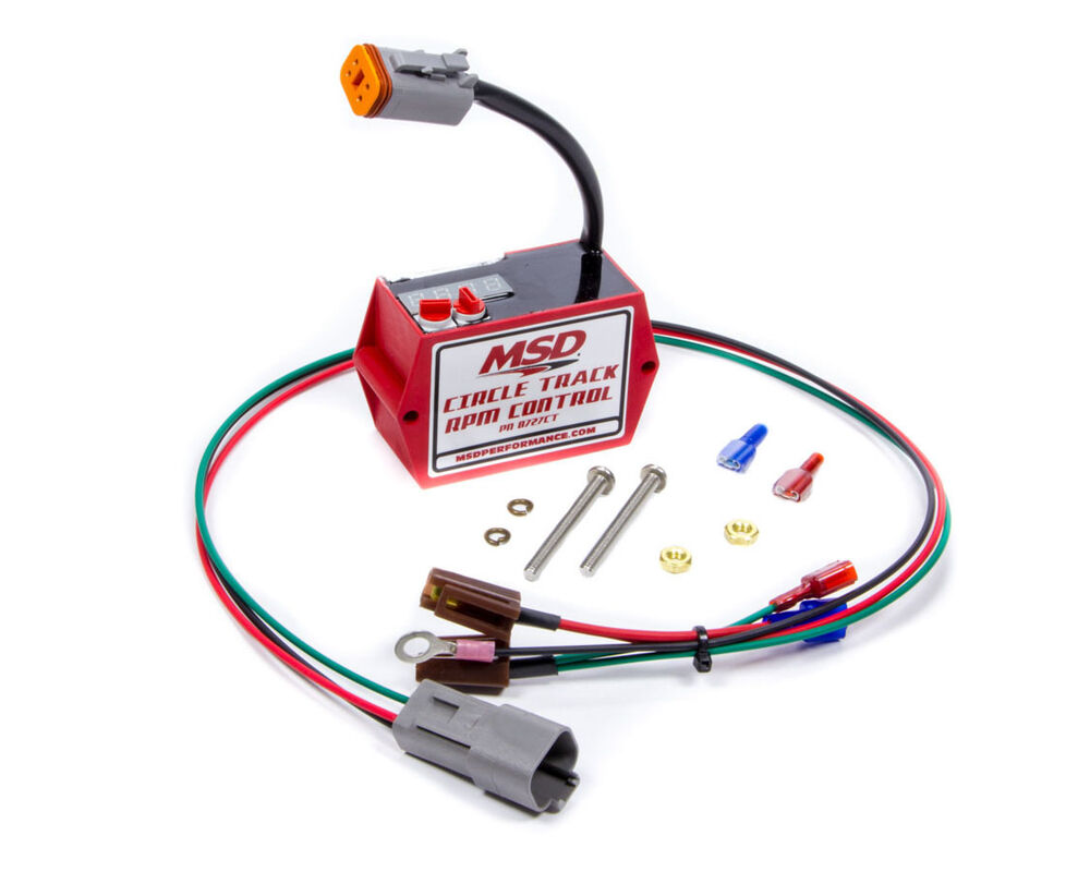 Msd Ignition 8727ct Digital Soft Touch Rev Limiter For Hei