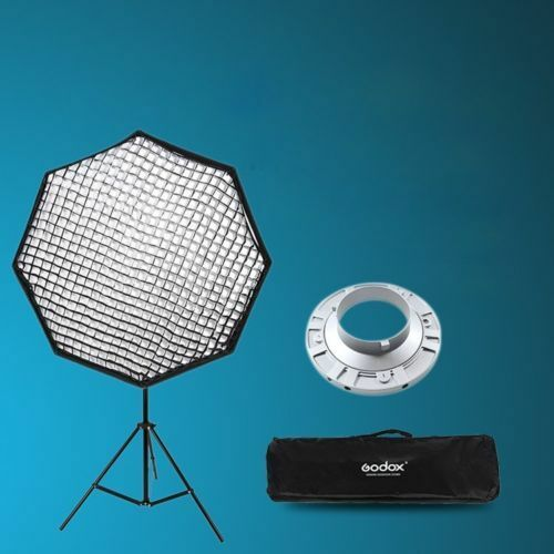 37 Octagon Honeycomb Grid Softbox With Flash Mounting For: Godox 95cm Octagon Grid Honeycomb Softbox + Bowens Mount