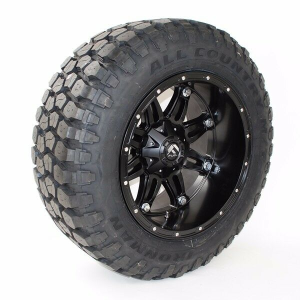 "20"" Fuel Hostage 33x12.50R20 Ironman MT Tires 20x12 33"