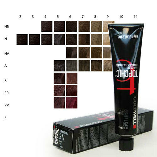 Goldwell Topchic Permanent Hair Color Tubes 21 Oz Choose Color Ebay