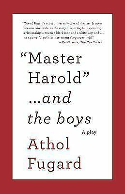 master harold and the boys essays on education
