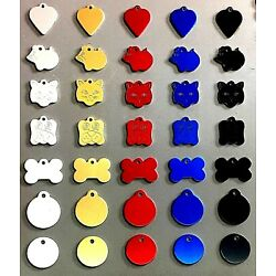 Pet Tags Dog/Cat Including FREE Engraving & FREE P+P
