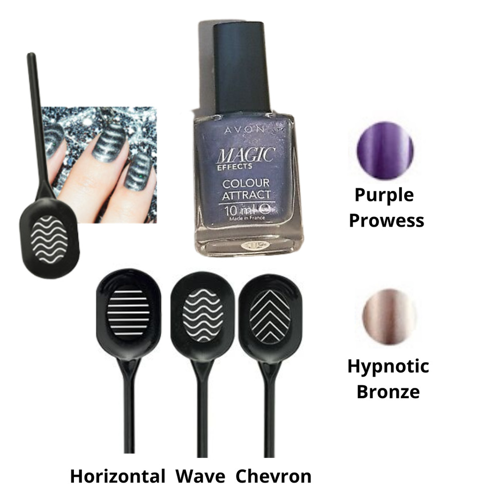 Avon Colour Attraction Magnetic Nail Enamel with Magnetic Wand | eBay