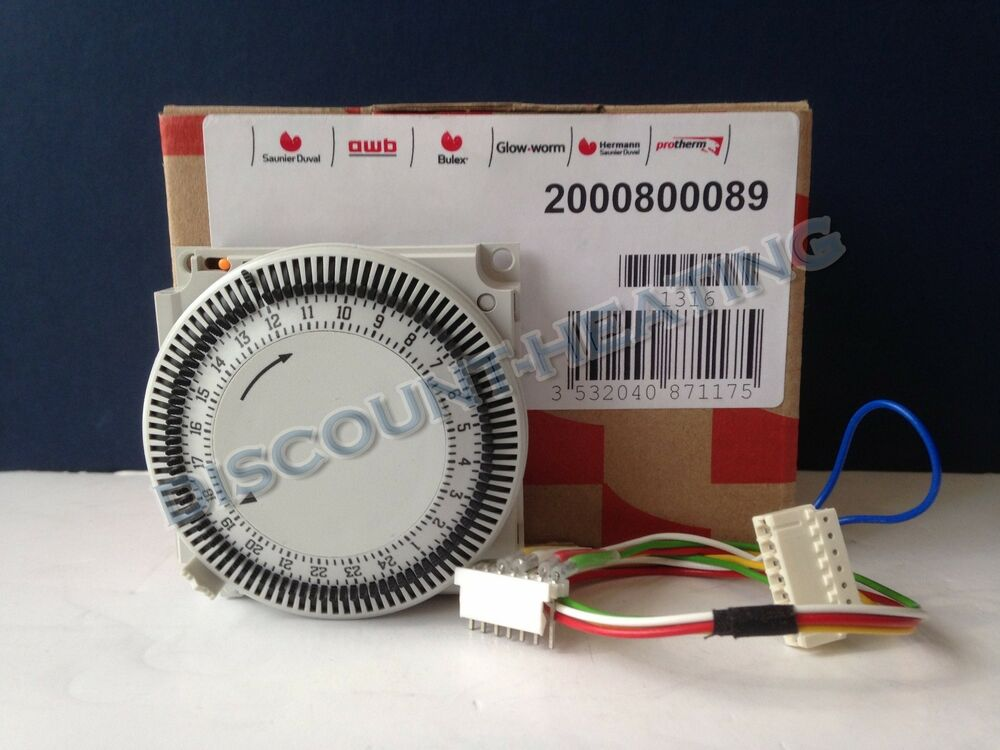 GLOWWORM 24CXI 30CXI 38CXI MECHANICAL TIMER CLOCK 800089 2000800089 ...