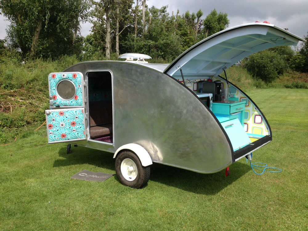 Step By Step Build A Teardrop Camper Caravan Trailer Plans