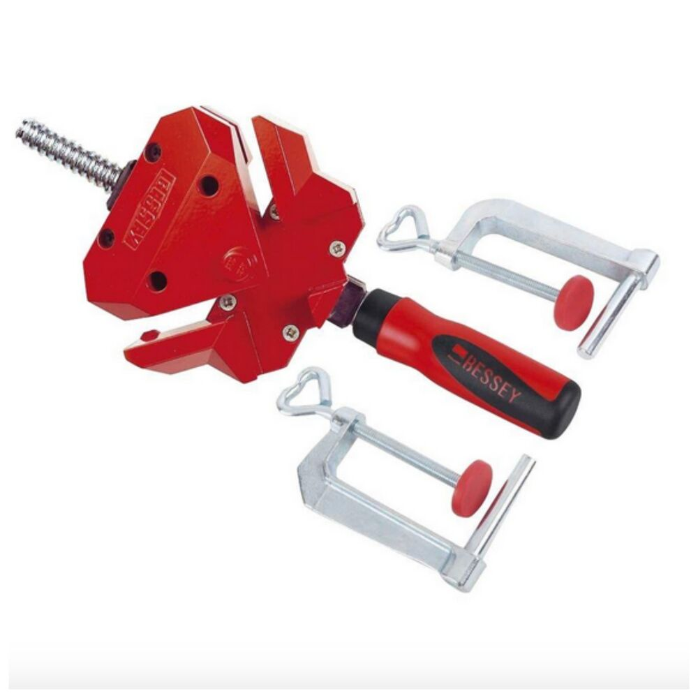 Bessey 90 degree right angle corner clamp wood woodworking for Right angle house