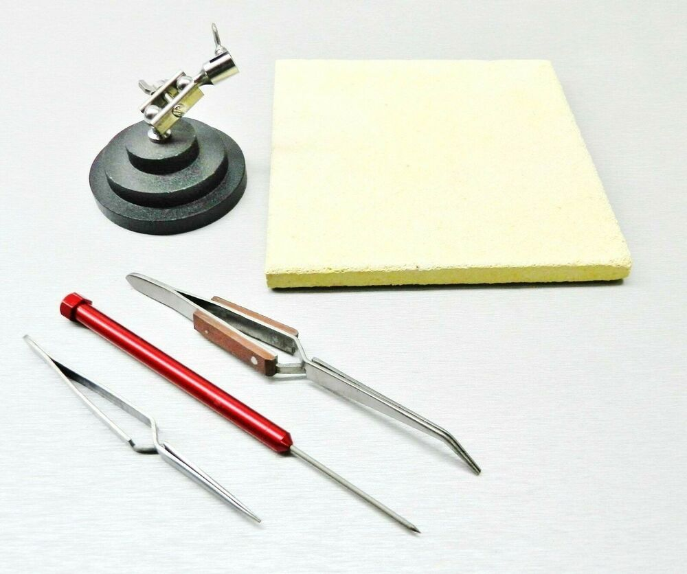 jewelry crafts soldering tools kit ceramic solder board