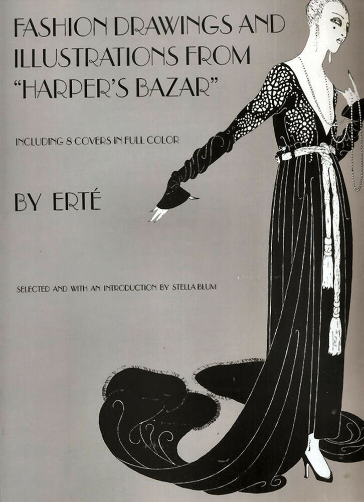Fashion Drawings And Illustrations From Harpers Bazar By Erte 9780486233970