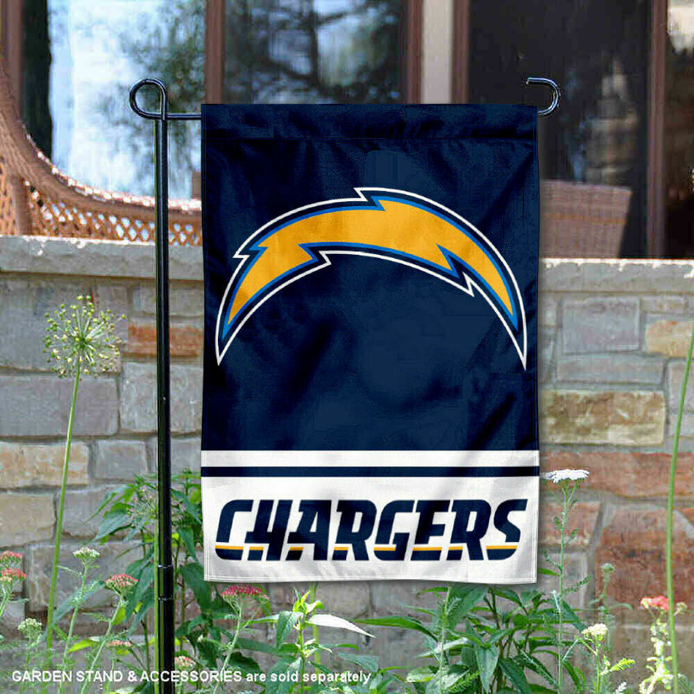 San Diego Chargers Banner: LA Chargers Garden Flag And Yard Banner 848267046719