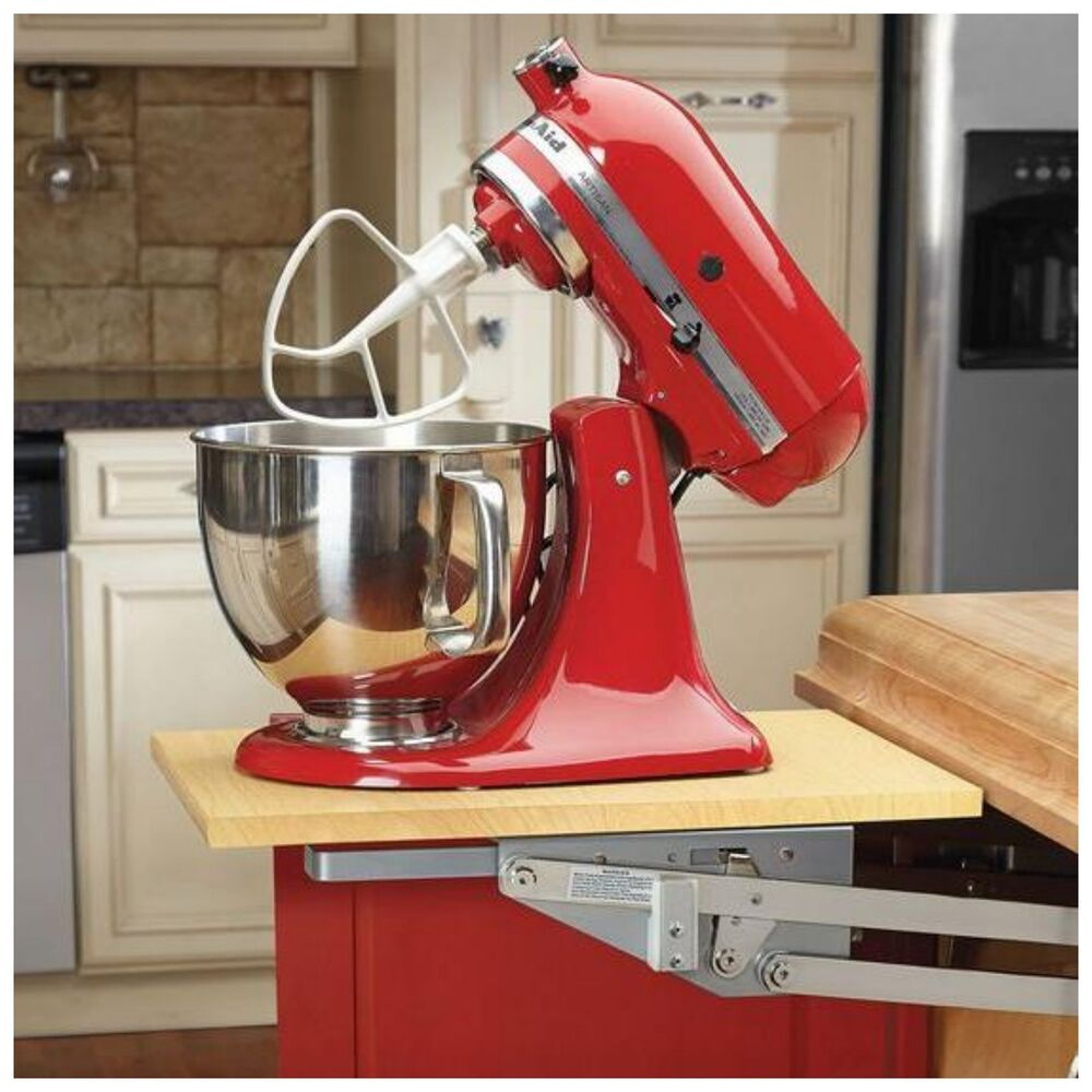 Rev A Shelf Kitchen Cabinet Heavy Duty Mixer Appliance