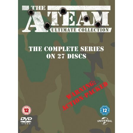 img-The A-Team Series 1-5 Ultimate Collection Dvd Box Set New/Sealed