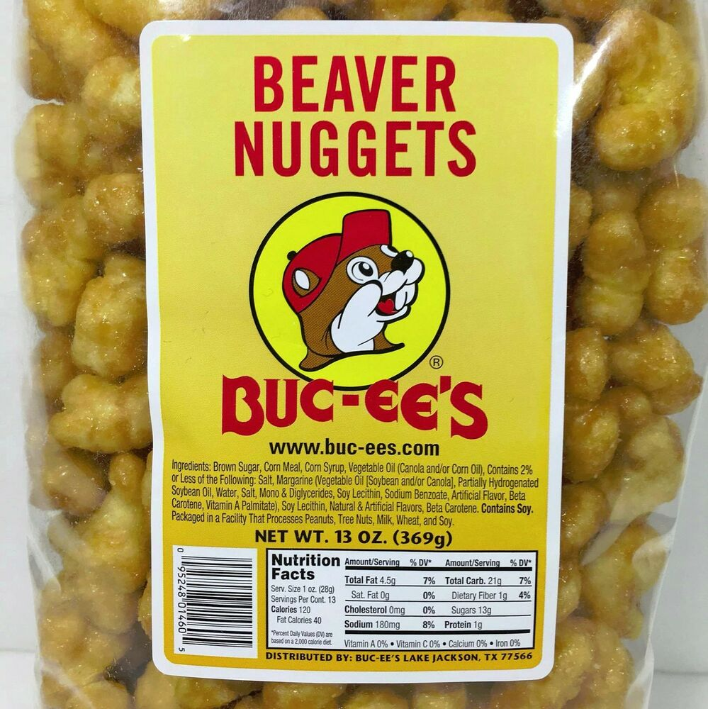 20 Bags BUC-EE'S FAMOUS BEAVER NUGGETS SWEET CORN PUFF