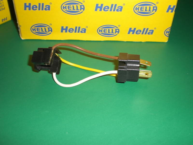 Vw Scirocco Jetta Hella H1 Headlamp Harness Adapter