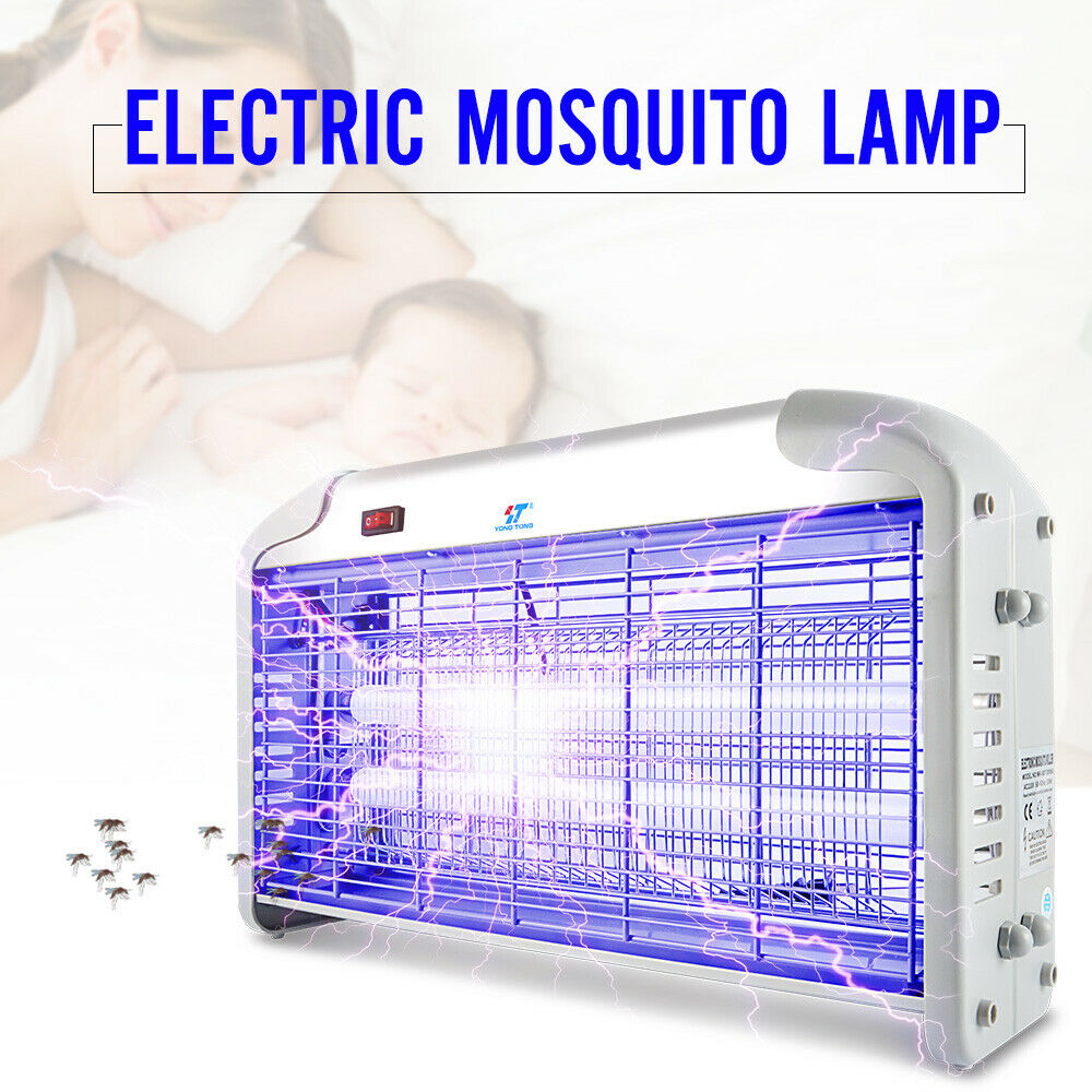 Fly insect Zapper Catcher 20W Electric UV Light Panel Bug ...