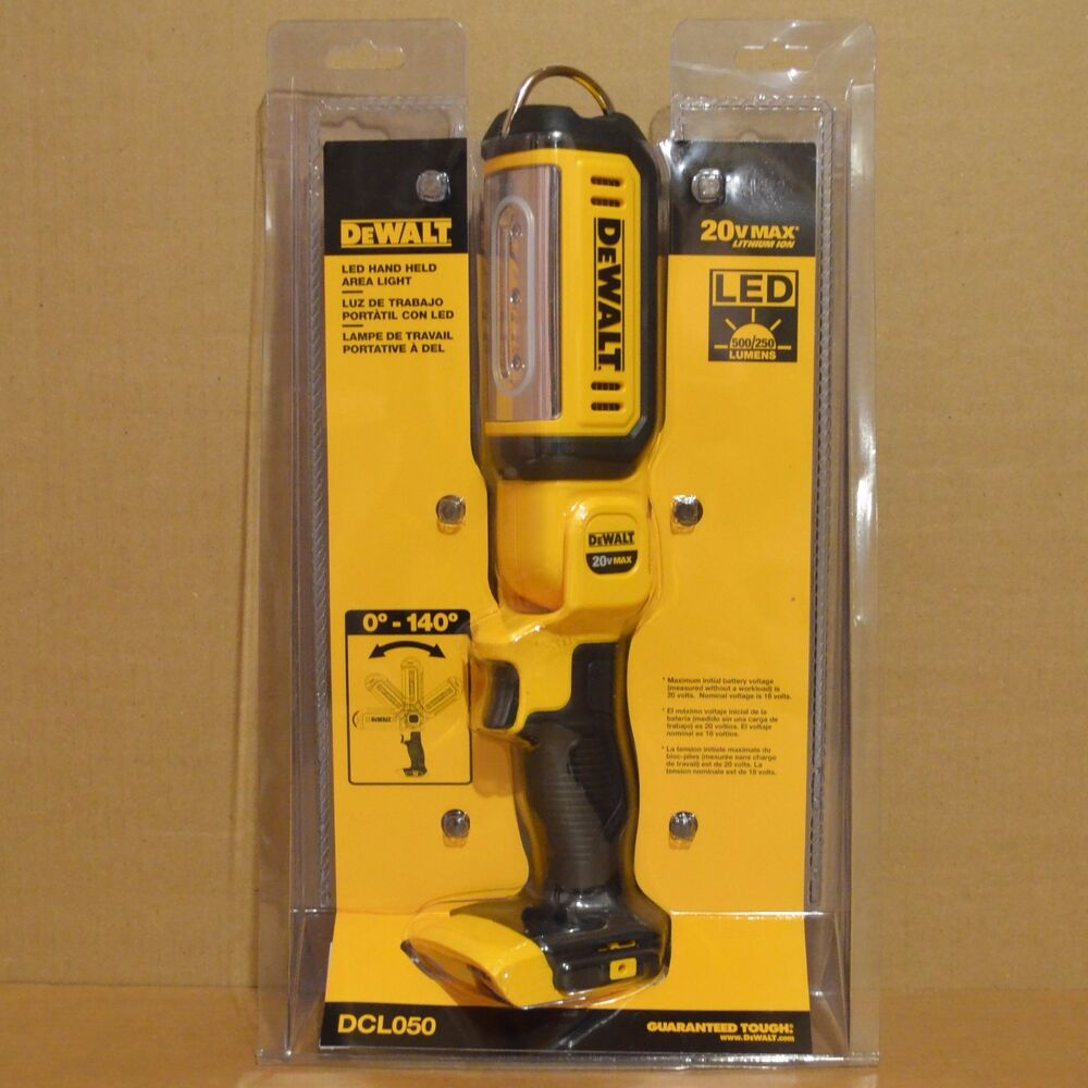 Brand New Dewalt Dcl050 20v Max Cordless Led Hand Held