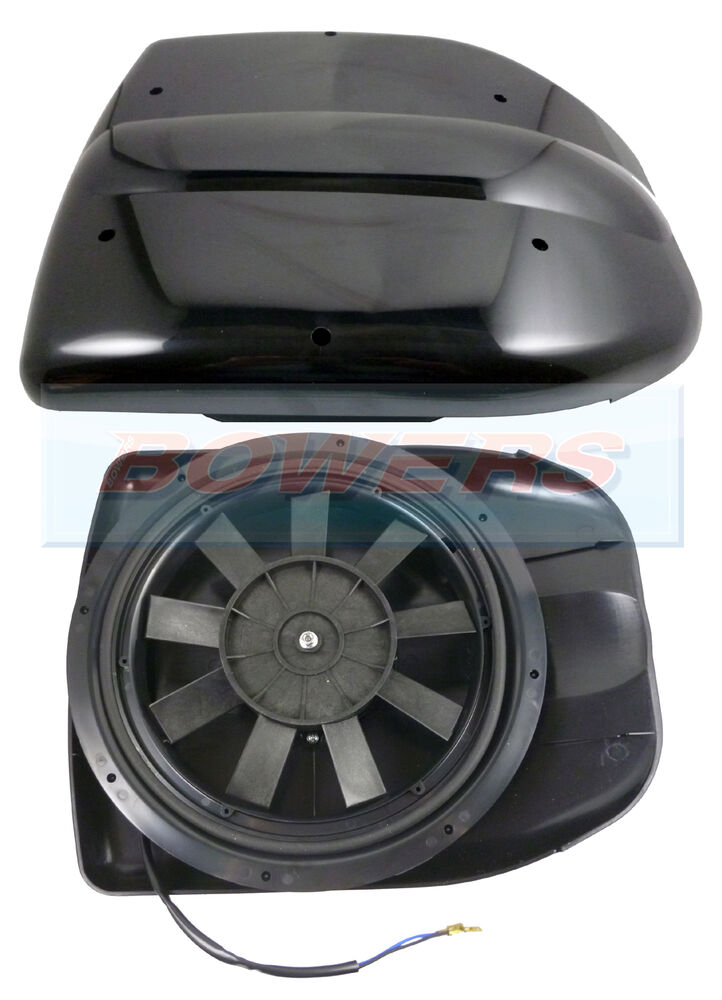 12v Low Profile Powered Motorised Roof Fan Air Vent
