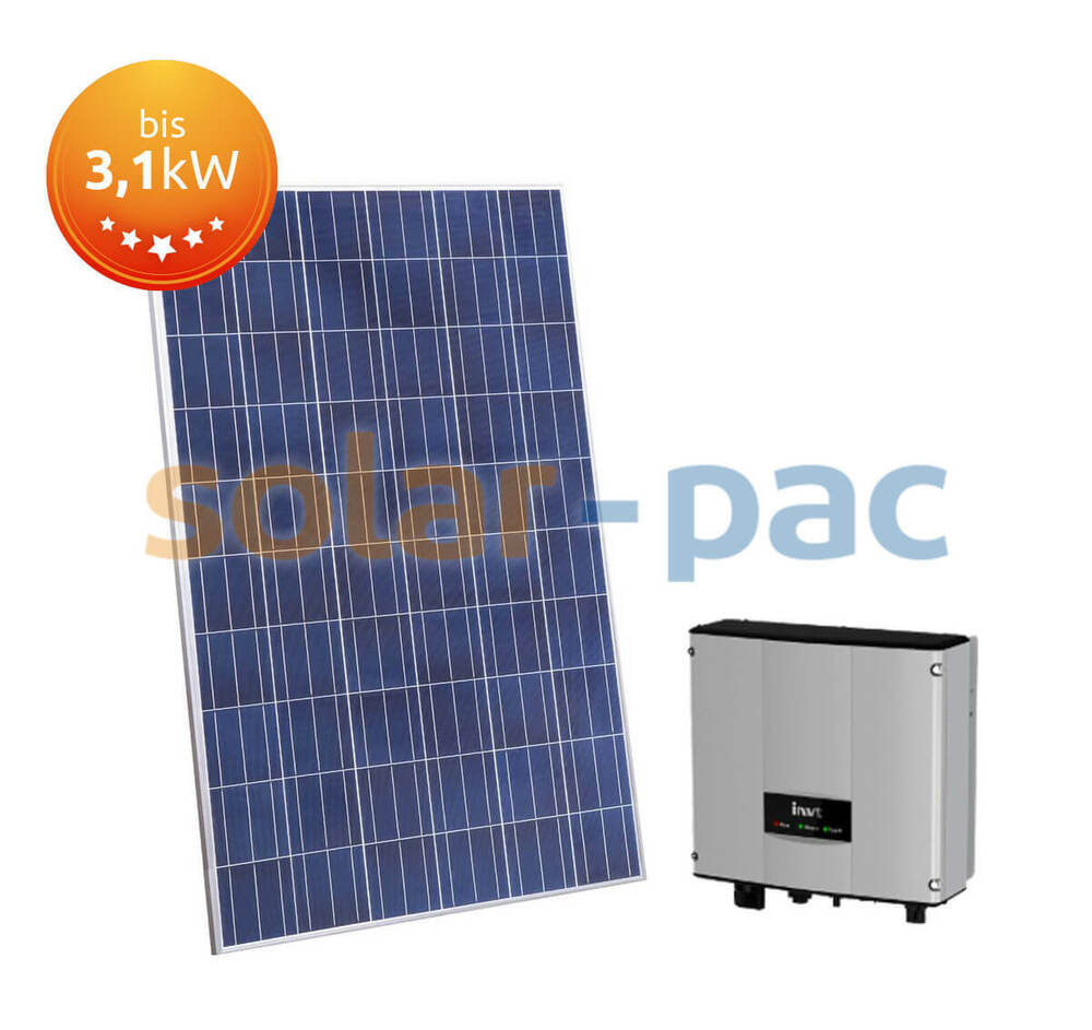 solaranlage pv komplettpaket 1 0 bis 3 1kwp flachdach schr gdach fassade ebay. Black Bedroom Furniture Sets. Home Design Ideas