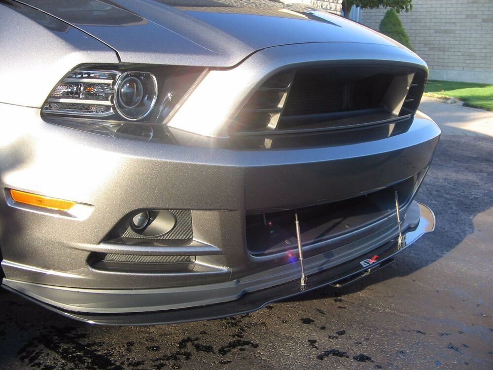 2013 Ford Mustang Gt Performance Parts >> 2013 2014 Ford Mustang California Special Front Bumper Carbon Fiber Splitter APR | eBay