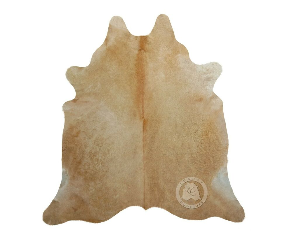 New Brazilian Cowhide Rug Camel Leather Cow Skin Cow Hide