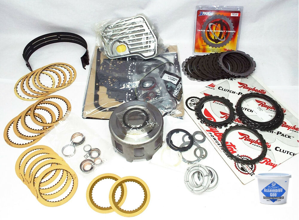 98-03 4L60E 4L65E Transmission Rebuild Kit - UPGRADED FOR HEAVY DUTY GM  TRUCKS | eBay