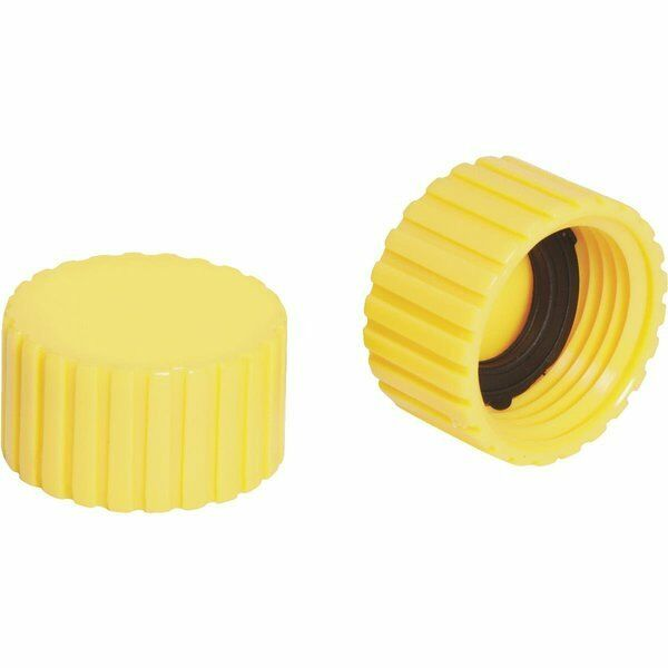 Caps plastic end cap w washer hose thread garden