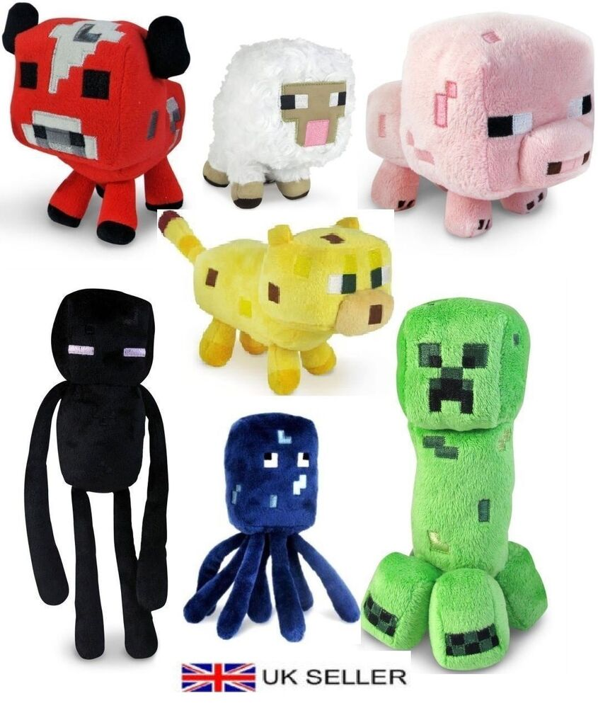 Soft Toys For Toddlers Religious : Minecraft animal plush toys stuffed animals soft toy
