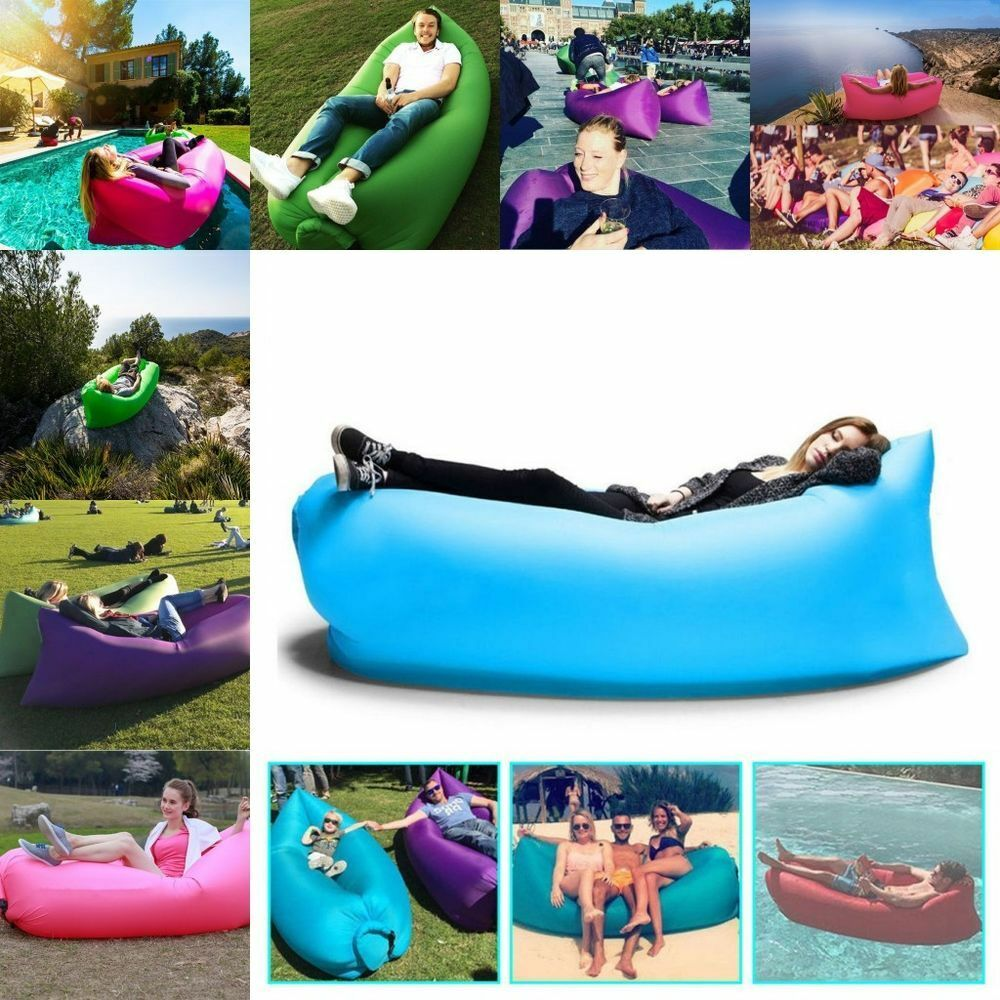 Inflatable Sofa Air Bed Lounger: Inflatable Air Chair Sofa Bed Lounger Sleeping Mattress