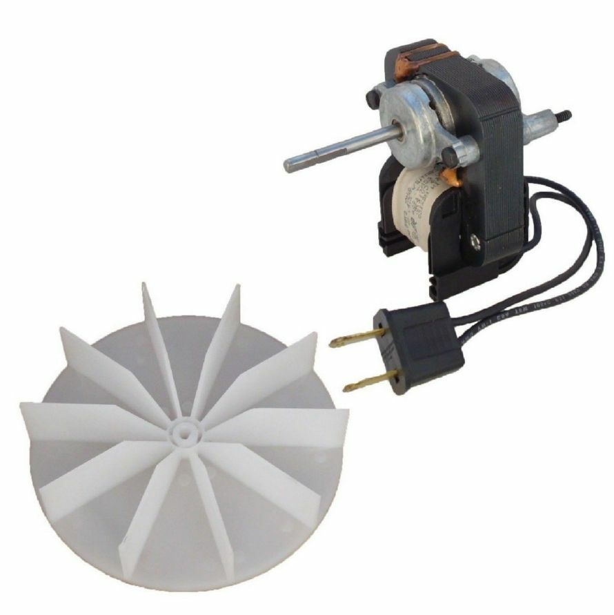 Electric Fan Motor Kit W Blower Wheel 3 16 Shaft 120v