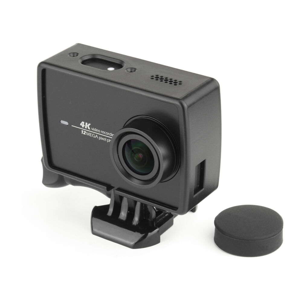 new protective frame housing case mount for xiaomi yi 4k. Black Bedroom Furniture Sets. Home Design Ideas