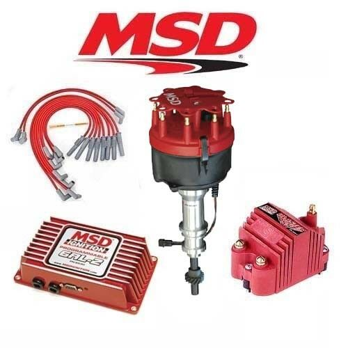 Msd Ignition Kit Programmable 6al Distributor  Wires  Coil