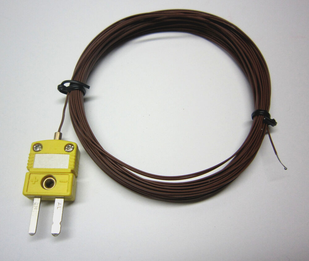 Multi Core Cable Type J Thermocouple : Extra long ft m k type thermocouple wire for digital