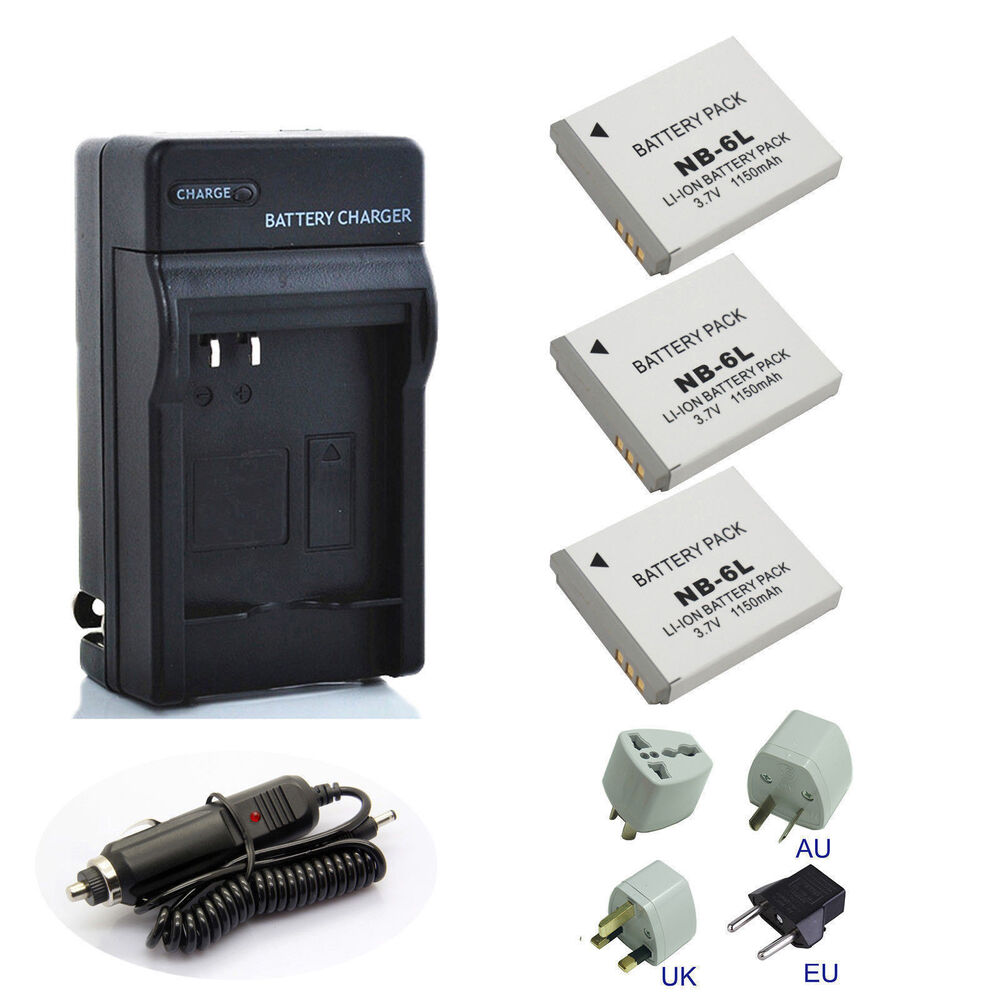 Camera Battery Charger For Canon Powershot Sx600hs
