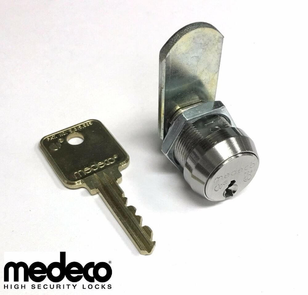 Medeco high security universal cam lock with in body