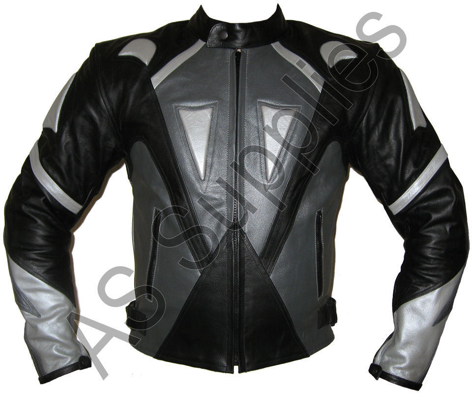 oblivion veste de moto en cuir blouson motard toutes tailles ebay. Black Bedroom Furniture Sets. Home Design Ideas