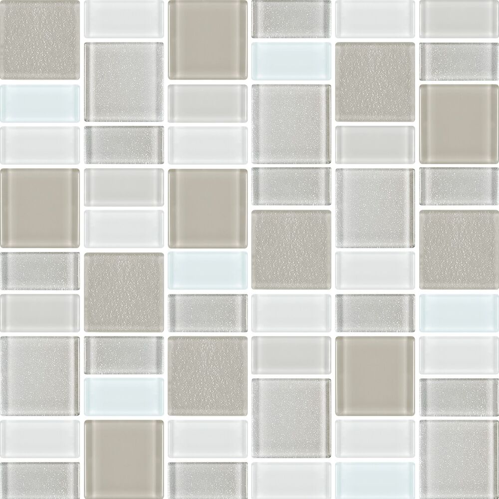 mosaic tiles backsplash bathroom tile squares rectangles ebay