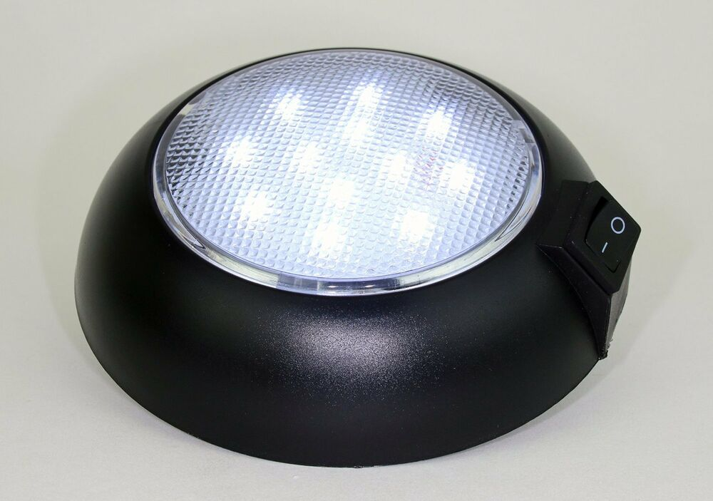 Battery Powered Led Dome Light Magnetic Or Fixed Mount