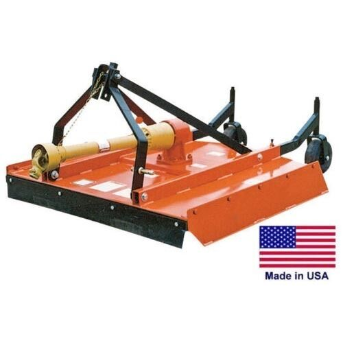 Tractor Mounted Brush Cutter : Field brush mower rotary cutter point hitch mounted