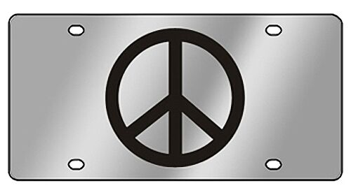 New Peace Sign Novelty License Plate Ebay