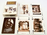 VINTAGE PLAYING CARDS WIDE SEALED FRANCIS FRITH 1900s PHOTOS DECK NON STANDARD