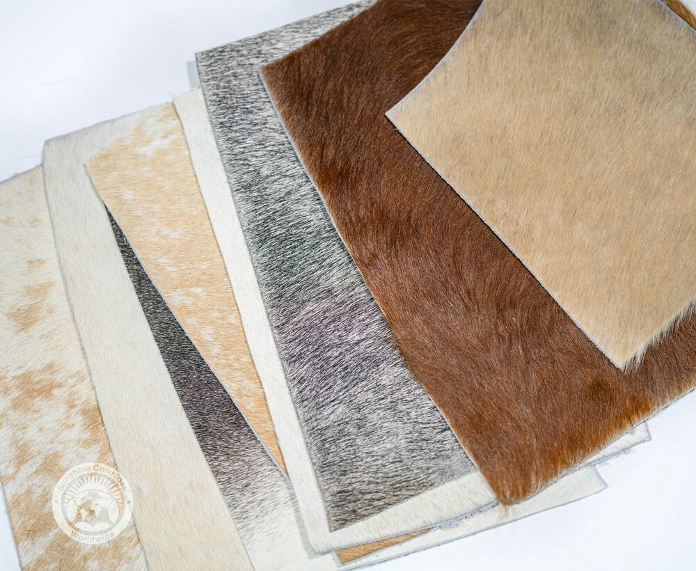 New Brazilian Cowhide Rug 5 X7 Light Brindle Leather Cow