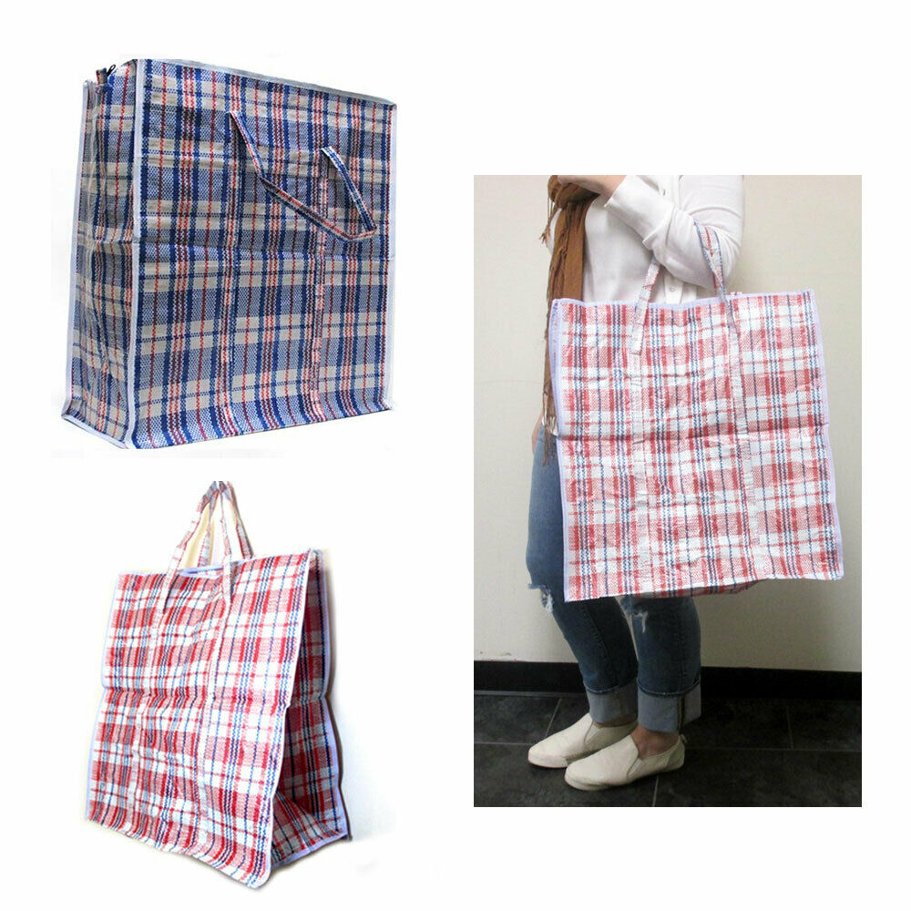Large Tote Storage Bag Reusable Shopping Groceries Laundry
