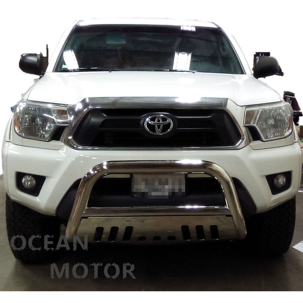 Fits 2005 2015 Toyota Tacoma S S Chrome 3 Quot Bull Bar Push