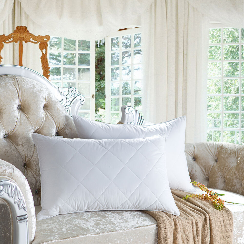 Snowman standard queen king size 100 goose feather pillow for Best king size down pillows
