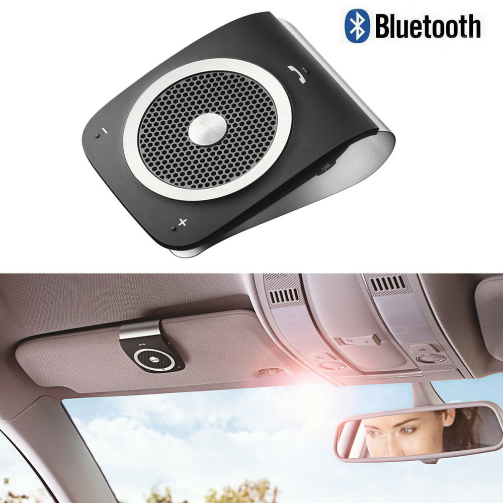 wireless bluetooth car kit visor handsfree speaker phone  iphone   samsung ebay