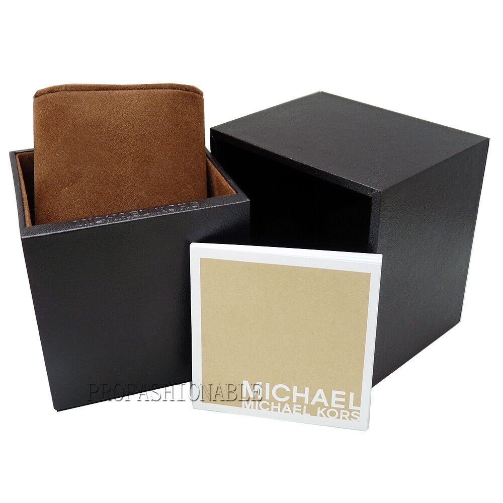 92799be90bb34 Details about New Michael Kors Twist Gold Chain Link Stainless Steel Chrono  MK3131 Women Watch